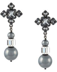 Ellen Conde - 'blanche Classic' Earrings - Lyst