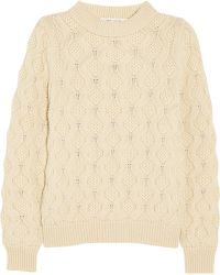 Marc Jacobs Cableknit Cashmere Sweater - Lyst