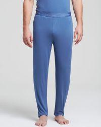 Calvin Klein Body Modal Pajama Pants blue - Lyst