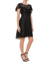 Ella Moss Floral Lace Cocktail Dress - Lyst