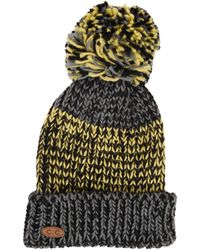 Armitage Avenue | Tri- Color Knit Pom Hat | Lyst