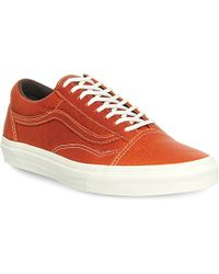 Vans Old Skool Reissue Ca Leather Trainers - For Men - Lyst