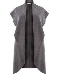 Windsmoor | Sleeveless Wool Blend Coatigan | Lyst