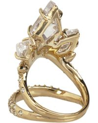 Alexis Bittar Crystal Cluster Cocktail Ring - Lyst