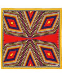 Sarah & Sorrentino - Lagos Scarf Small Red - Lyst