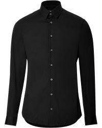 Jil Sander Cotton Blend Shirt - Lyst