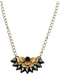 Deepa Gurnani Necklace - Metallic