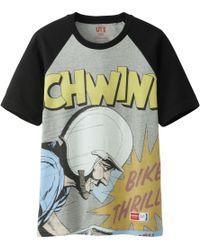 Uniqlo Men Schwinn Graphic Short Sleeve T Shirt - Lyst