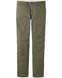 Uniqlo Men Vintage Regular Fit Chino Flat Front Pants - Lyst