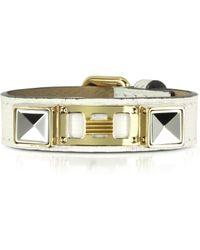 Proenza Schouler Ps11 Single Wrap Bracelet - Metallic