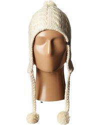 The North Face Fuzzy Earflap Beanie - Lyst