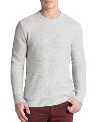 Michael Kors Cashmere Crewneck Sweater - Lyst