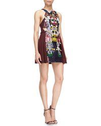 Mary Katrantzou Clocktopia Multi-embellished Dress - Lyst
