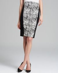 Rachel Roy - Cracked Jacquard Pencil Skirt - Lyst