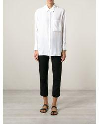 Kai-aakmann - Pleated Back Shirt - Lyst
