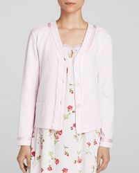Carole Hochman - Forever Carnation Bed Jacket - Lyst