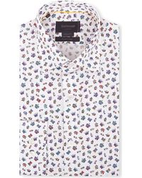 Duchamp Chess-Print Tailored Shirt - For Men - Lyst