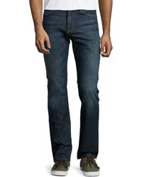 7 For All Mankind Slimmy Straight-leg Jeans - Lyst