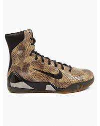 Nike Men'S Kobe Ix High Ext Qs Hi-Top Sneakers - Lyst