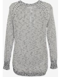 Shae - Exclusive Marled Open Weave Sweater - Lyst