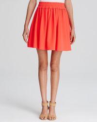 Kate Spade Flare Skirt - Lyst