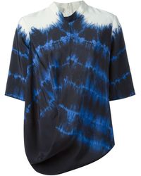 Stella McCartney Blue Darrel Top - Lyst