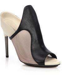 3.1 Phillip Lim Aria Leather & Mesh Sandals - Lyst