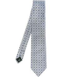 Dolce & Gabbana Polkadot Jacquard Silk Tie - Lyst
