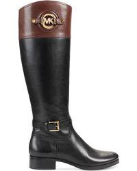 Michael Kors Michael Stockard Riding Boots - Lyst
