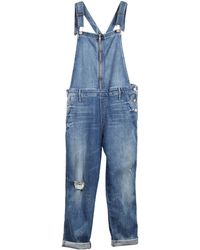 Mother Denim Overall - Lyst