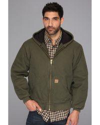 Carhartt Big & Tall Qfl Sandstone Active Jacket - Lyst