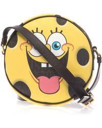 Moschino Spongebob Leather Crossbody Bag - Lyst