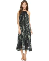 Zimmermann Tempo Lattice Dress Floral - Lyst
