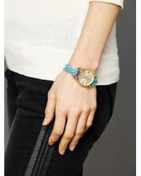 Sara Designs   Studded Watch Bracelet   Lyst