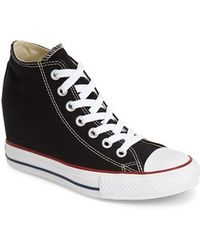 Converse Chuck Taylor 'Lux Corel' High Top Sneaker - Lyst