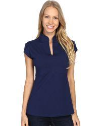 Fig Clothing Bom Top - Blue