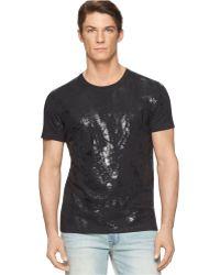 Calvin Klein Jeans Tire Tracks T-Shirt - Lyst