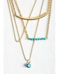 Zad Fashion Inc. - Eye Eye, Fashion! Necklace - Lyst