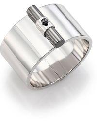 Reed Krakoff T-Bar Sterling Silver Cuff Bracelet silver - Lyst