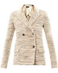 Isabel Marant Lali Textured Tweed Jacket - Lyst