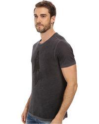 John Varvatos Skeleton Graphic T-Shirt - Lyst
