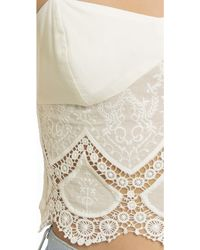 6 Shore Road By Pooja - Lace Cami - Moonlight White - Lyst