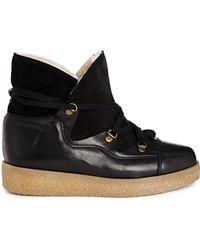 Ganni Masha Texas Boot - Black