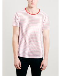 Topman Selected Greaser Strip T-Shirt - Lyst