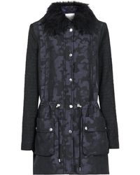 Reiss Parker Camouflage Print Parka - Lyst