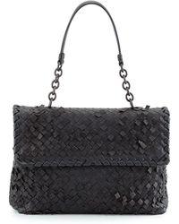 Bottega Veneta Olimpia Tobu Fringe Shoulder Bag - Lyst