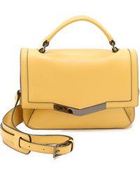 Time's Arrow Micro Helene Cross Body Bag - Yellow - Lyst