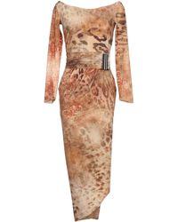 La Petite Robe Di Chiara Boni Knee-Length Dress beige - Lyst