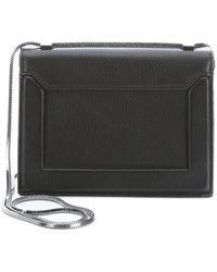 3.1 Phillip Lim Black Leather Mini Soleil Structured Shoulder Bag - Lyst