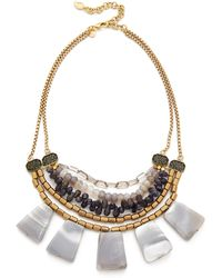 David Aubrey - Amanda Statement Necklace - Lyst